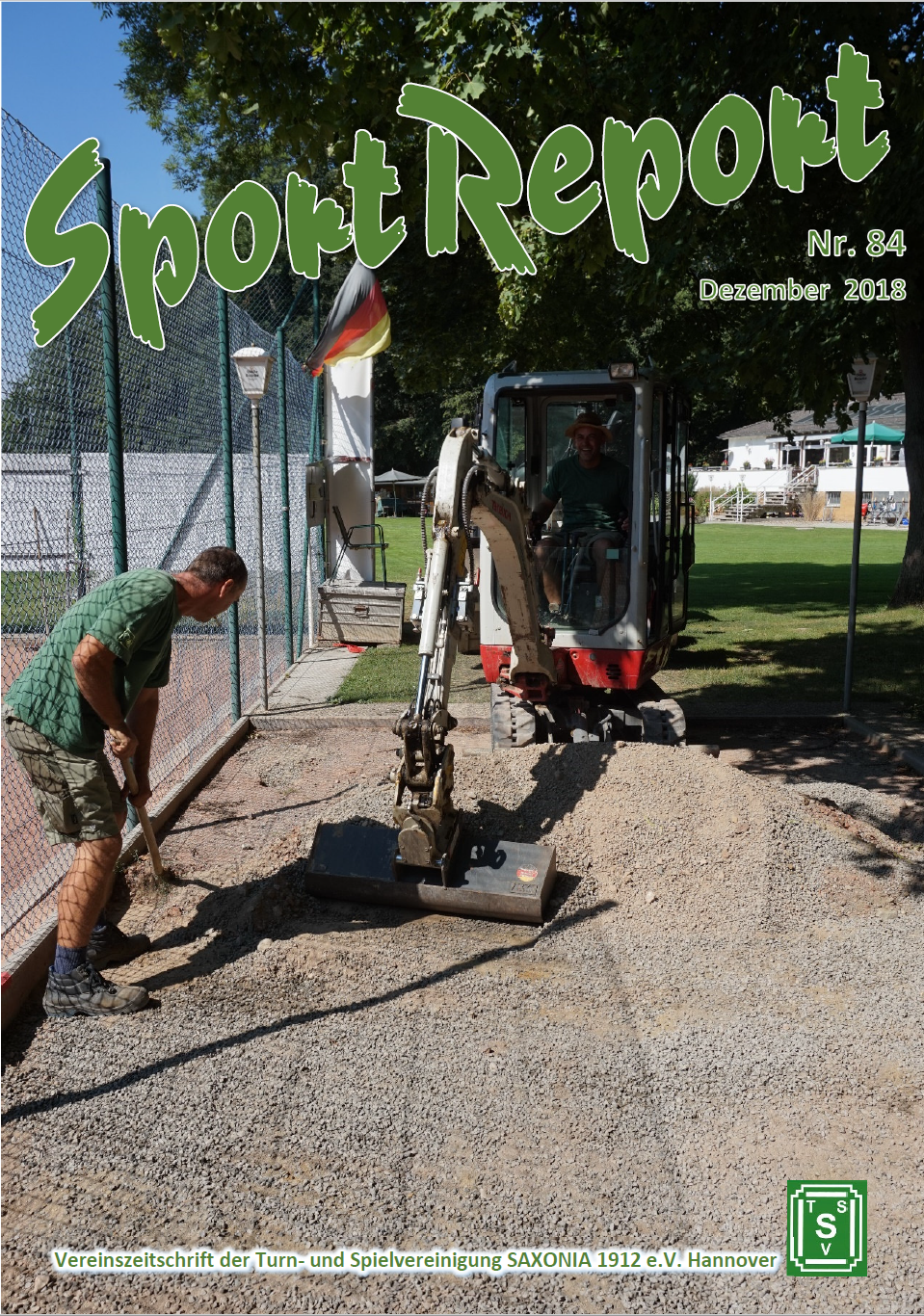 SportReport Nr.84 (Cover)